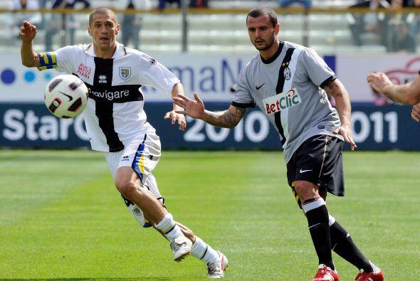 Parma venció a Juventus en la jornada 37 del fútbol de Italia.