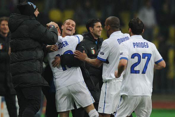 Inter se impuso 1-0 y 2-0 en el global. La primera Semifinal de la 'Cham...