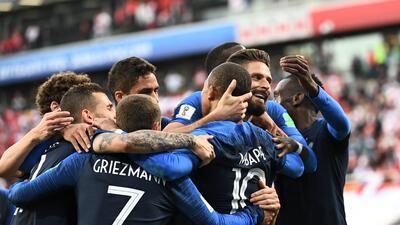 En fotos: Francia venció a Perú, lo eliminó y clasificó a octavos de final de Rusia 2018