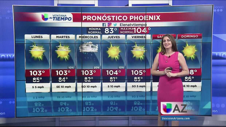 Inicio de semana con temperaturas normales y probabilidad de lluvias por...