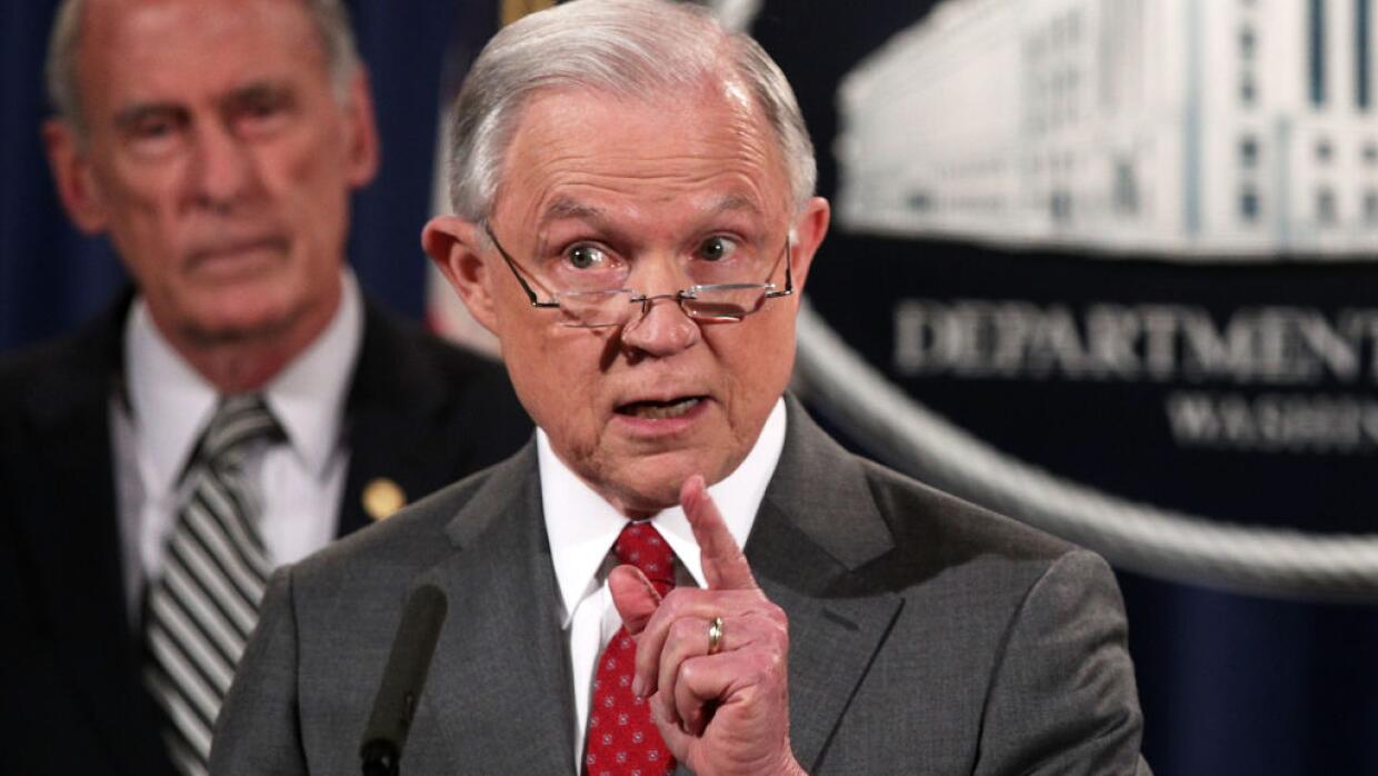 ERl fiscal general Jeff Sessions.