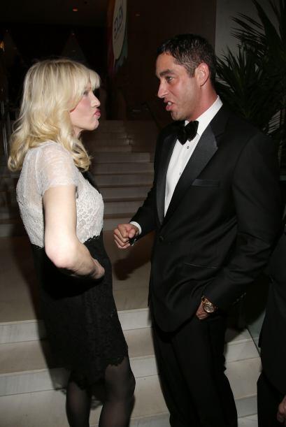 El ex de Sofía Vergara tuvo la oportunidad de conocer a Courtney Love, c...
