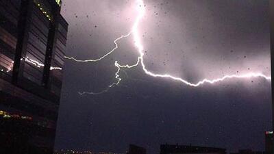 Retrato de una tormenta eléctrica: imágenes captadas por residentes de Houston