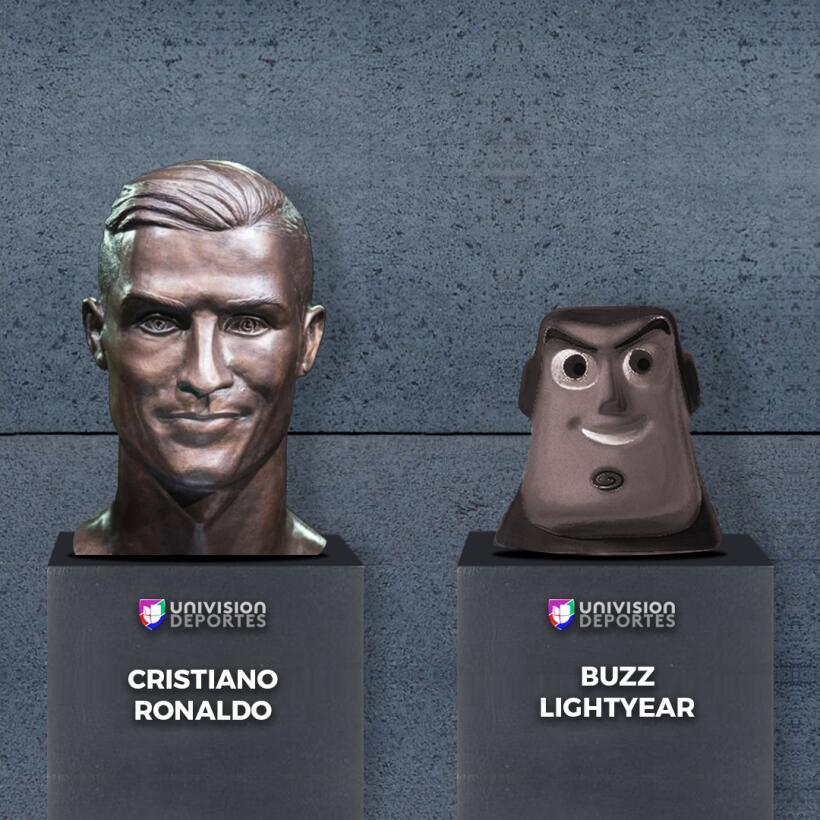 El nuevo busto de Cristiano no se salvó de los divertidos memes buzz.jpg