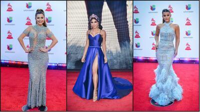 Las representantes de Nuestra Belleza Latina en Latin GRAMMY 2018