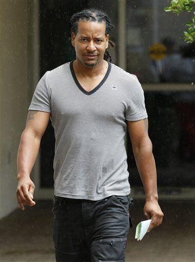 El pelotero dominicano Manny Ramírez fue arrestado en el 2001 por agredi...