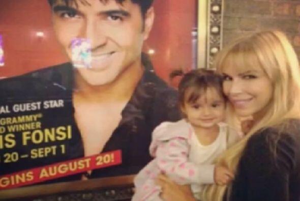 Fonsi quiere transmitirle ese mismo sentimiento y apoyo a su hija, Mikae...