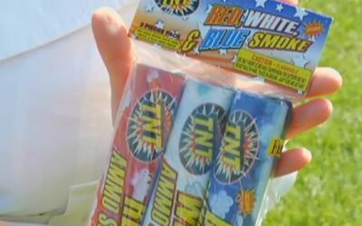 Advierten sobre fuegos artificiales para las celebraciones del 4 de julio