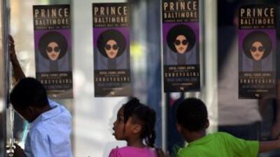 """Prince regresó a Baltimoredespués de 14 años desde su última vez con """"R..."""
