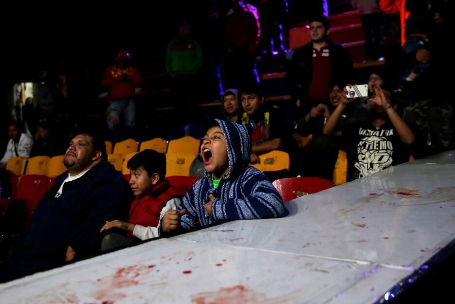 Alambres de púas, sangre y un público eufórico: dentro de la 'lucha extr...