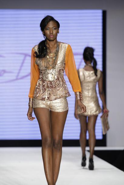 Los sexys escotes estuvieron a cargo del diseñador, Fabrizio de C...