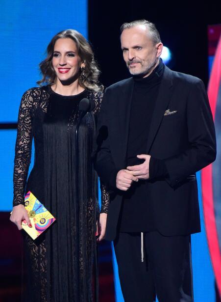 María Toledo y Miguel Bose presentaron los nominados al Premio Mejor Can...