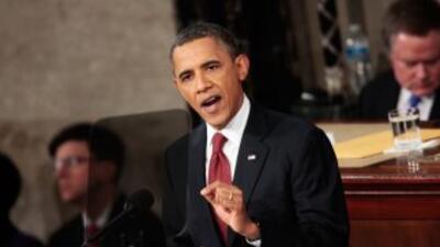 El presidente Barack Obama alista su quinto Informe sobre el Estado de l...