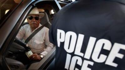 Agente de ICE.