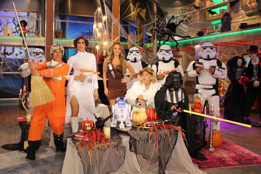 En El Gordo y la Flaca tuvimos a Gordo Luke, Pricesa Lili, sexy Chewbacc...