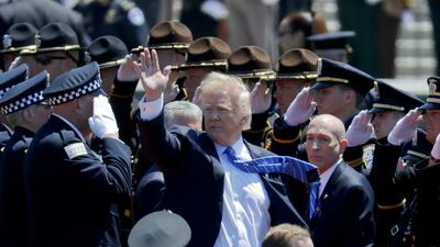 El diario fotográfico de la era Donald Trump
