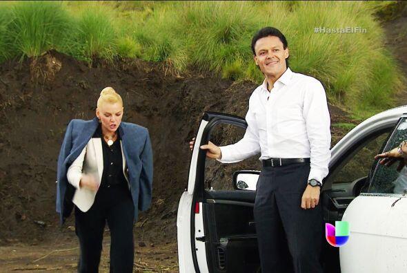 No ocultas tu alegría Chava, de seguro te dio mucho gusto ver a Patricio...