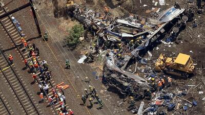 La junta de seguridad de transporte confirma que el tren Amtrak circulab...