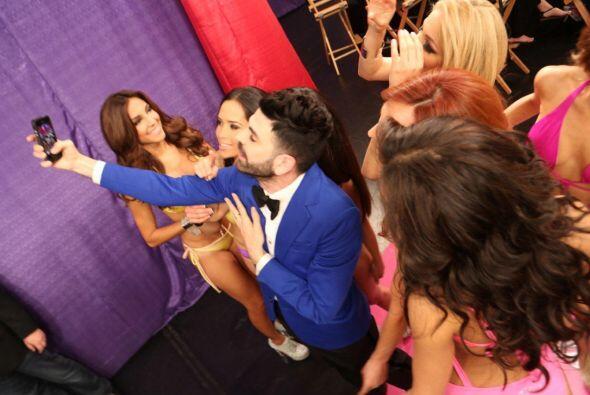 Jomari siempre nos mantiene al tanto de lo que pasa en el 'backstage'.