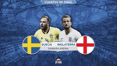 ¡A romper la racha escandinava! Inglaterra busca el pase a semifinal