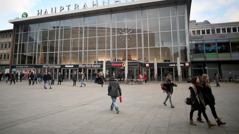 Estación en Colonia, Alemania