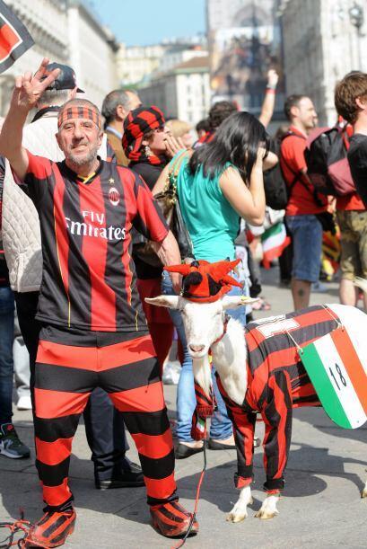 Milan salió campeón de Italia luego de 7 años y los...