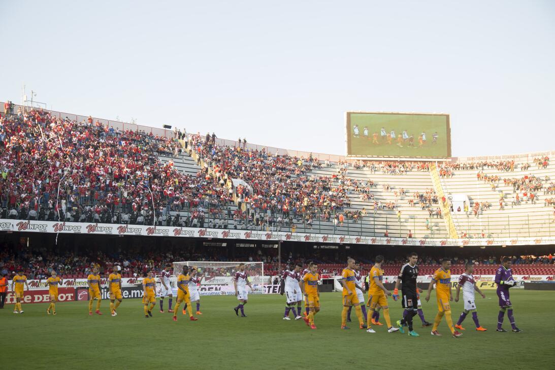 Estadio Luis Pirata Fuente - Veracruz 0-2 Tigres: 16,931 espectadores
