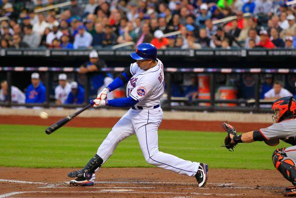 Jardinero: Carlos Beltrán de los Mets de Nueva York. El patrullero boric...