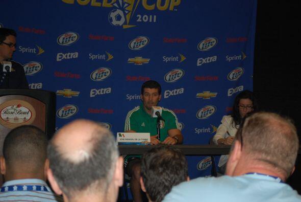 Después de esto, el 'Chepo' de la Torre dio una conferencia de prensa.