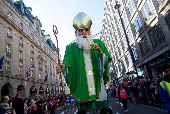 La celebración sirve para recordar al considerado patrón de Irlanda, un...