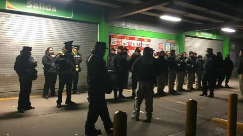 Las autoridades del Estado de México detuvieron a 113 personas, e...