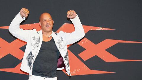 Vin Diesel no puede ocultar la satisfacción que le dan estas pel&...