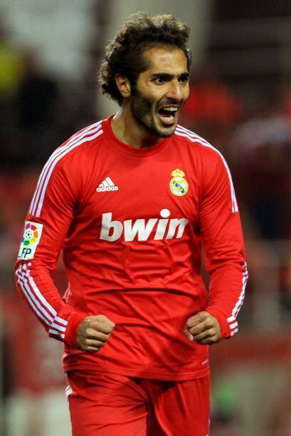 Altintop se sacó la mufa y anotó con la camiseta del Real Madrid. Puso e...