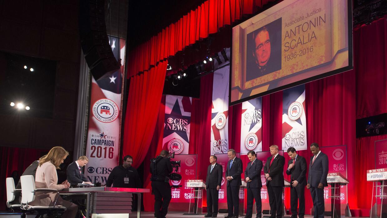 Debate republicano: candidatos piden boicotear a sucesor de Scalia que n...