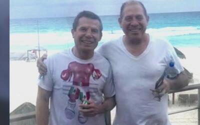 Julio César Chávez le dio el último adiós a su hermano asesinado