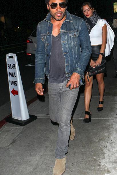 Lenny Kravitz sabe lo que tiene y que domina el ´bad boy´ a la perfecció...