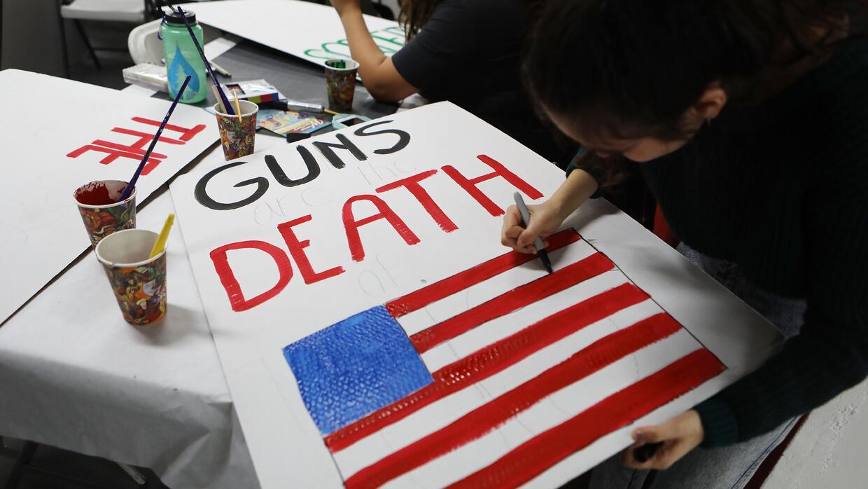 Cartel anti armas