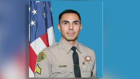 Sargento Jorge Chávez, del Departamento del Sheriff del Condado d...