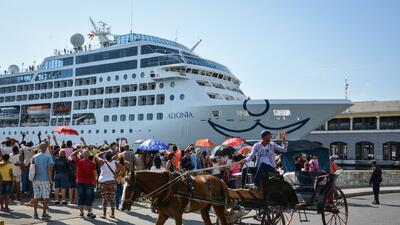 """""""No ayude a la represión"""", el lema de la campaña contra los cruceros que viajan de Miami a Cuba"""
