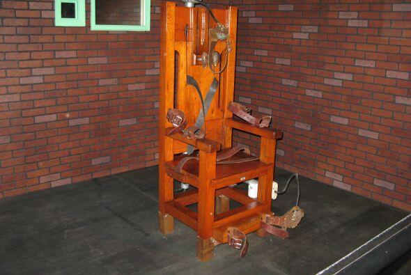También se usó la silla eléctrica, como la famosa '...