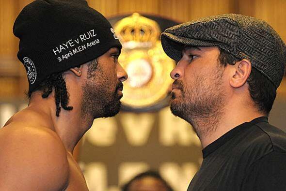 Haye expondrá por primera vez su título pesado AMB y John Ruiz buscará a...