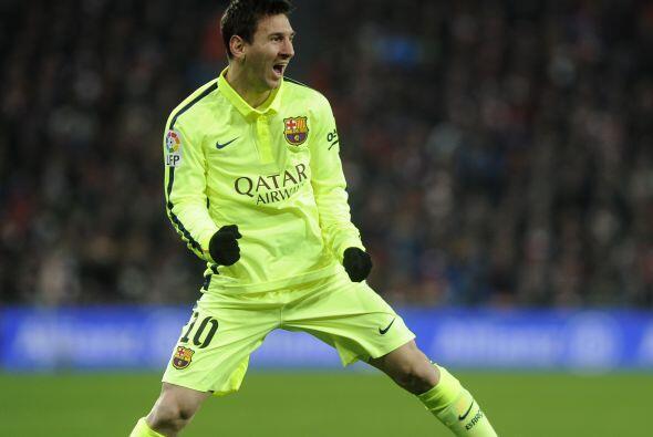 Y en el primer lugar se encuentra el argentino Lionel Messi, quien en 20...