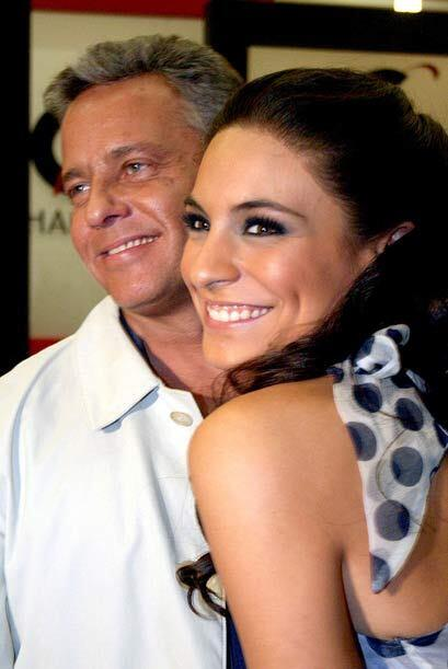 """Durante la filmación de """"Juro Que Te Amo"""", el romance entre Alexis Ayala..."""