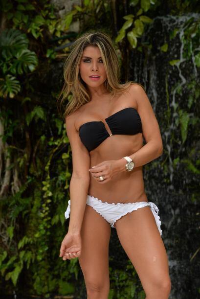 Con un bronceado perfecto y el correcto bikini hacen de María Alejandra...
