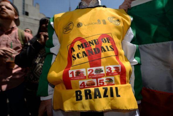 La campaña de protesta comenzó en Nueva York, en noviembre de 2012, y, d...