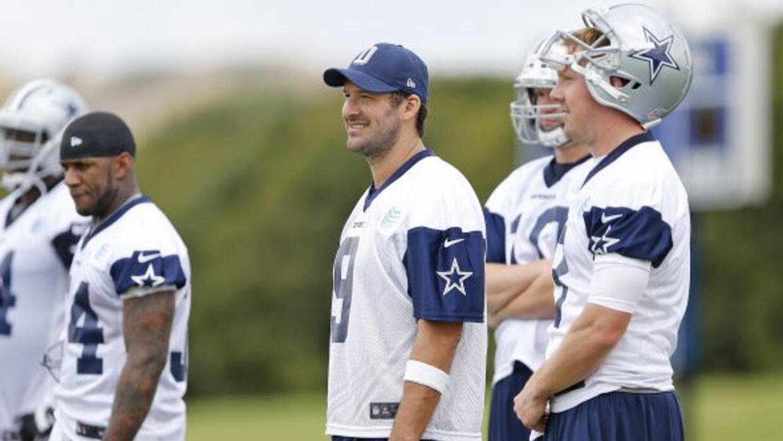Los Cowboys con una nueva forma de estirar (AP-NFL).