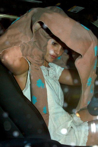 En otra ocasión, Britney apareció en un estado inconveniente. Aunque se...