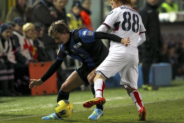 En el otro partido jugado a media semana, Atalanta venció por la mínima...