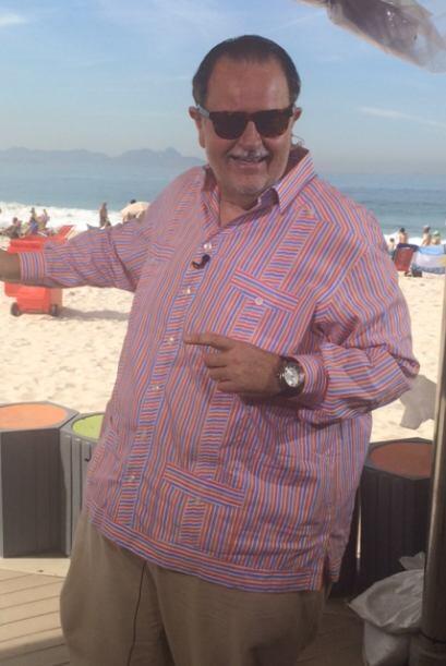 Raúl se la ha pasado muy bien durante su estancia en Brasil.