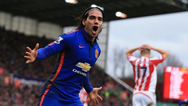 El delantero colombiano afirma que disfruta su presente en Manchester.